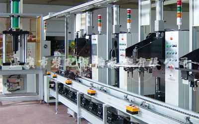 Automotive brake(caliper) brake pump assembly line