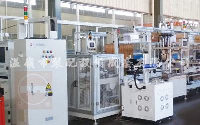 Automotive gear box assembly line