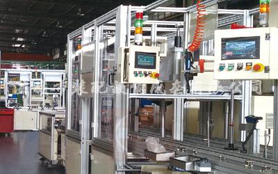 Alternator sub-assembly line